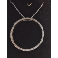 N#027 .925 CIRLCLE PENDANT (1.00ct) $395.00
